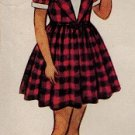 McCall 8361 50s Girl's Party DRESS Vintage Sewing Pattern