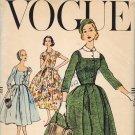 Vogue 9015 50s Superb Retro Dickey DRESS Vintage Sewing Pattern *UNCUT*