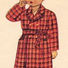 McCall 5431 40s Adorable Toddler's BATHROBE Vintage Sewing Pattern