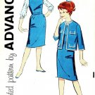 Advance 9343 60s Girl's JUMPER, JACKET & BLOUSE Vintage Sewing Pattern *UNCUT
