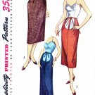 Simplicity 4004 50s *UNCUT Maternity SLIM PENCIL SKIRT in two lengths Vintage Sewing Pattern