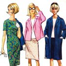 McCall's 8059 60s *UNCUT Half Size COAT or JACKET, DRESS or BLOUSE & SKIRT Vintage Sewing Pattern