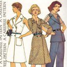 McCall's 4044 70s Half Size WRAP DRESS or TOP and PANTS Vintage Sewing Pattern