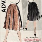 Advance 9499 60s Gorgeous SKIRT Inverted Pleat Vintage Sewing Pattern