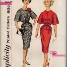 Simplicity 3371 60s Jackie-O/Pan Am Era SUIT DRESS Vintage Sewing Pattern
