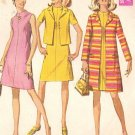 Simplicity 7482 60s Mod A-Line COAT, DRESS & JACKET Vintage Sewing Pattern