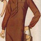 Simplicity 5562 60s *UNCUT Mad Men/Pan Am Era CHEMISE DRESS Vintage Sewing Pattern