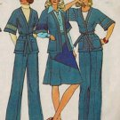 Simplicity 7271 70s Wrap JACKET, SKIRT & PANTS Vintage Sewing Pattern