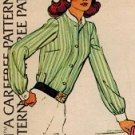 McCall's 3914 70s *Uncut Classic Set of BLOUSES, Tie or Standing Collar Sewing Pattern