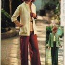 Simplicity 7024 70s Uncut JACKET & PANTS Vintage Sewing Pattern