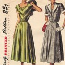 Simplicity 2410 Fab 40s DRESS & Bolero Vintage Sewing Pattern *UNCUT*