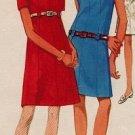 Butterick 4833 60s *UNCUT* A-Line, Ultimate Mad Men DRESS Vintage Sewing Pattern