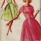 Advance 2861 60s *UNCUT Pan Am Era PARTY DRESS Vintage Sewing Pattern