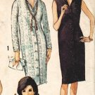 Simplicity 5538 60s Italian Collar Pan Am Era DRESS Vintage Sewing Pattern