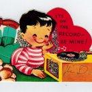 Inside Pattern Finds: Vintage 1960 Sparkle Valentines & Letters