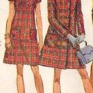 Simplicity 8452 60s Raglan-Wrap COAT & JACKET & DRESS Vintage Sewing Pattern