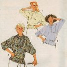 Simplicity 8885 70s Batwing PULLOVER TOP Vintage Sewing Pattern