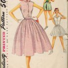 "Simplicity 1167 50s Fantastic ""Weekend Wardrobe"" Skirt, Shorts & Blouse Vintage Sewing Pattern"