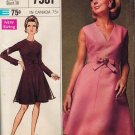 "Simplicity 7981 60s *UNCUT ""Designer Fashion"" Cocktail DRESS Vintage Sewing Pattern"