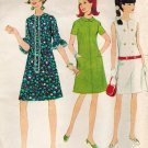 McCall's 8727 60s French Dart DRESS in Three Version Vintage Sewing Pattern