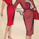 Advance 9201 60s *UNCUT* Slim Sheath DRESS Vintage Sewing Pattern