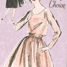 "Advance 9975 60s *UNCUT ""Loretta Youngs Choice"" Classic Two Piece DRESS Vintage Sewing Pattern"
