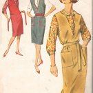 Simplicity 5067 60s Classic JUMPER & BLOUSE Vintage Sewing Pattern