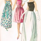 Simplicity 5679 60s Prom DRESS in two lengths Vintage Sewing Pattern