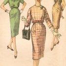 Simplicity 3076 60s Jackie-O/Pan Am Era SLIM SKIRT & Short JACKET  Vintage Sewing Pattern