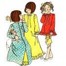 Simplicity 5988 UNCUT Sweet Girls' Nightgown, Pajamas & Robe Vintage Sewing Pattern