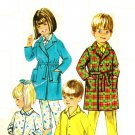 Simplicity 7407 Vintage 1960s Childs ROBE & PAJAMAS Sewing Pattern