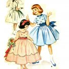 McCall's 2210 50s Girl's Classic Confirmation or Flower Girl DRESS Vintage Sewing Pattern