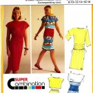 Burda 5432 Vintage DRESS, SKIRT, TOP and Wide BELT Sewing Pattern