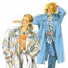 Burda 6286 Vintage 80s COAT or JACKET Sewing Pattern