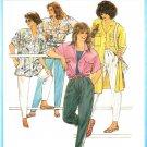 Burda 6580 Vintage 80s Overshirt or Shirt JACKET Sewing Pattern