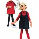 """McCall's 7441 Vintage 60s """"Helen Lee"""" Designer DRESS and U-Neck JUMPER Sewing Pattern"""