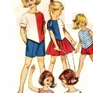 Simplicity 4457 Vintage 60s Girls 7 Day SEPARATES Wardrobe Sewing Pattern