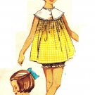 Simplicity 5552 Vintage 60s Mad Men Baby Doll Pajamas or Nightgown Sewing Pattern
