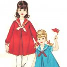 "Simplicity 5293 Vintage 60s ""4th of July"" Nautical Sailor Collar Girls DRESS Sewing Pattern"