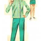 Butterick 2687 Vintage 60s Girls' Pants, Collarless Jacket, Blouse, Skirt & Shorts Sewing Pattern