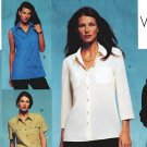 Vogue 2634 UNCUT Vogue Basic Design Misses Set of Blouses Sewing Pattern