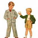Simplicity 2334 Vintage 40s UNCUT Cardigan Jacket and Pants (Suspenders Optional) Sewing Pattern