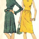 Simplicity 5095 Vintage 70s MAXI DRESS and Short Sewing Pattern