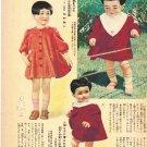 Vintage 1940s Japanese Toddler Dresses Pattern Digital Download