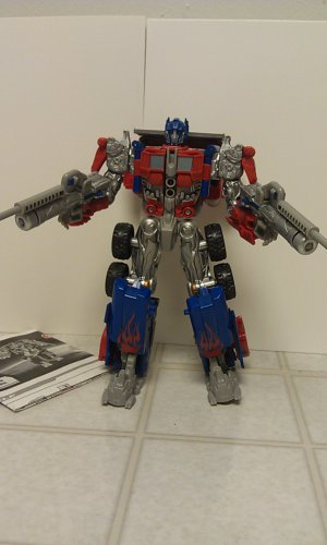 Transformers Robo Vision Optimus Prime (Target Exclusive)