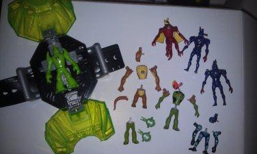 Ben 10 Alien Creation Transporter Lot