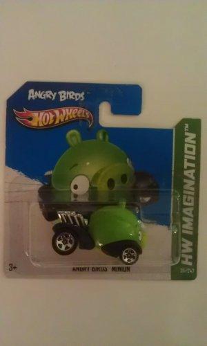 Hot Wheels Angry Birds Minion Pig (short card)