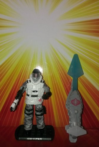 G.I. Joe Rise of Cobra Ice-Viper