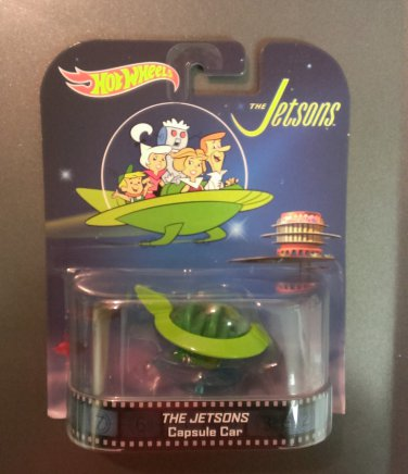 Hot Wheels Retro Entertainment Series The Jetsons Capsule Car