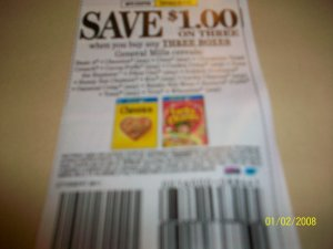 (10) $1/3 General Mills Cereals
